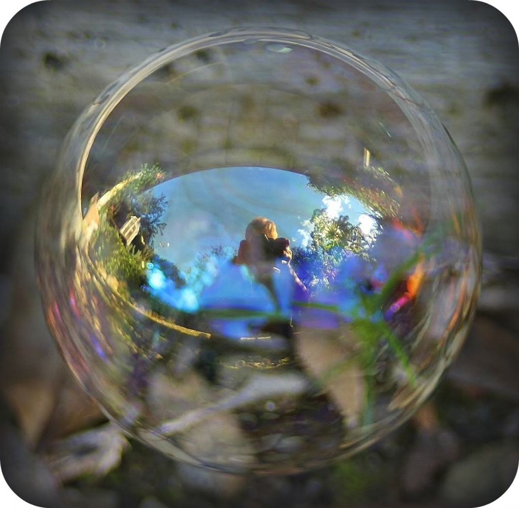 """In a Bubble"" by sabine"