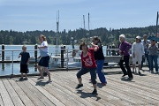 9th Jul 2012 - Flash Mob at the Docks
