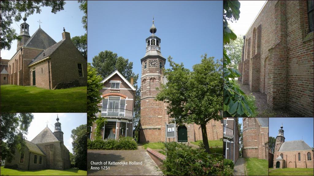 The church of Kattendijke by pyrrhula