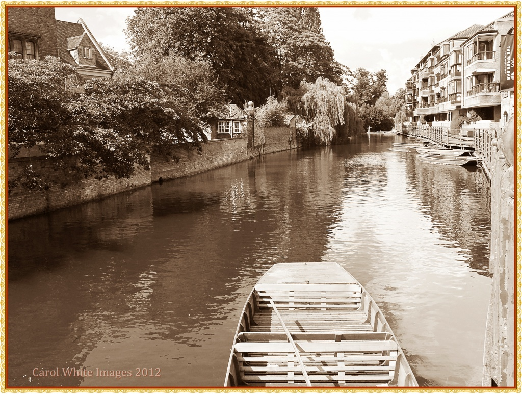 The River Cam,Cambridge by carolmw