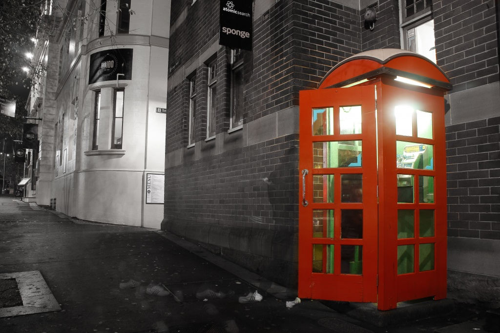 Phone booth by abhijit