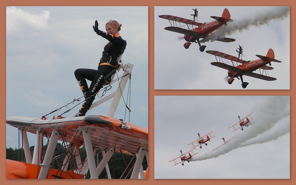 Breitling Wing Walkers by judithdeacon