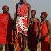 Maasai Warriors jumping by lwain