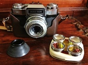 24th May 2012 - Real Glass: Zeiss Ikon Voigtlander Contaflex Super BC & Proxar lenses