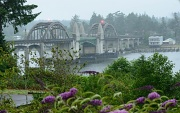 20th Jul 2012 - Siuslaw Bridge in the Morning Mist