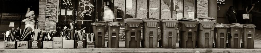 Pretty bins all in a row... by northy