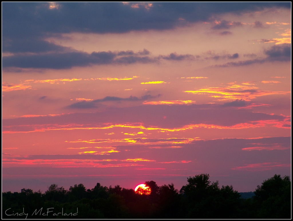 Evening Sky by cindymc