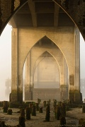 1st Aug 2012 - Under the Bridge in the Fog in Early Morning Summer Light