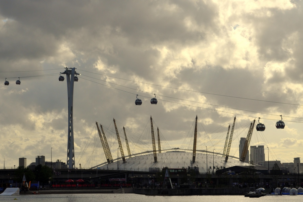 The Dome & The Cable Car by andycoleborn