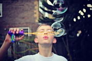 4th Aug 2012 - Blowing Bubbles.