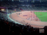 4th Aug 2012 - Galen Rupp's Victory Lap