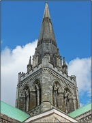 7th Aug 2012 - The Spire At Chichestser Cathedral