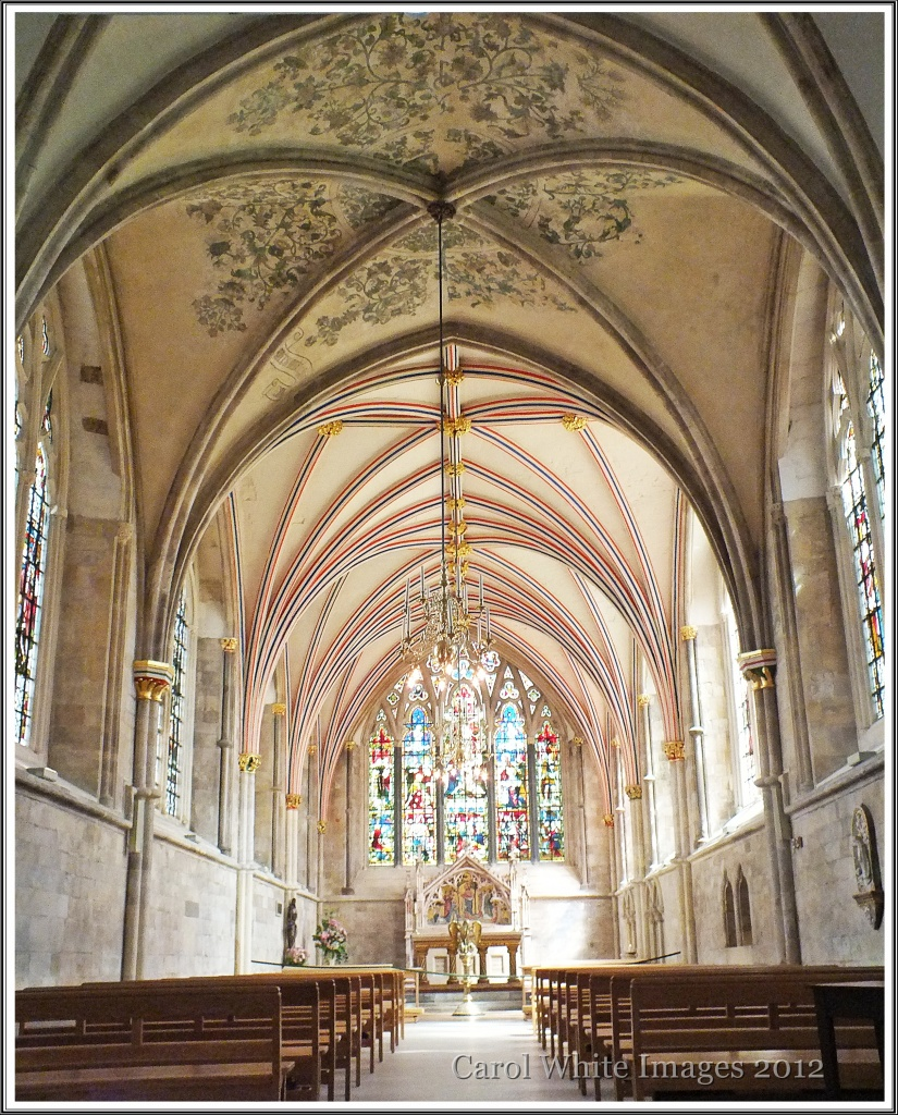 A Chapel In Chichester Cathedral by carolmw