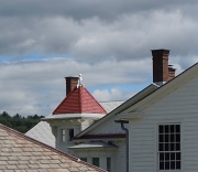 7th Aug 2012 - Roof lines.
