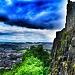 Castle on a cliff by jesperani