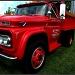 red truck by summerfield