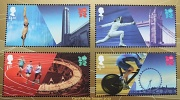 12th Aug 2012 - Commemorative Olympic Games Stamps