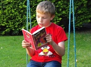 12th Aug 2012 - Book worm !!