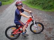 11th Aug 2012 - Tom on his bike.