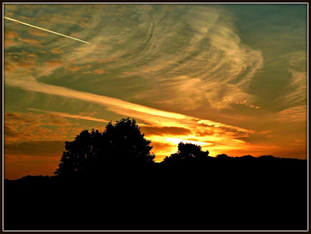 Orange Clouds by tonygig