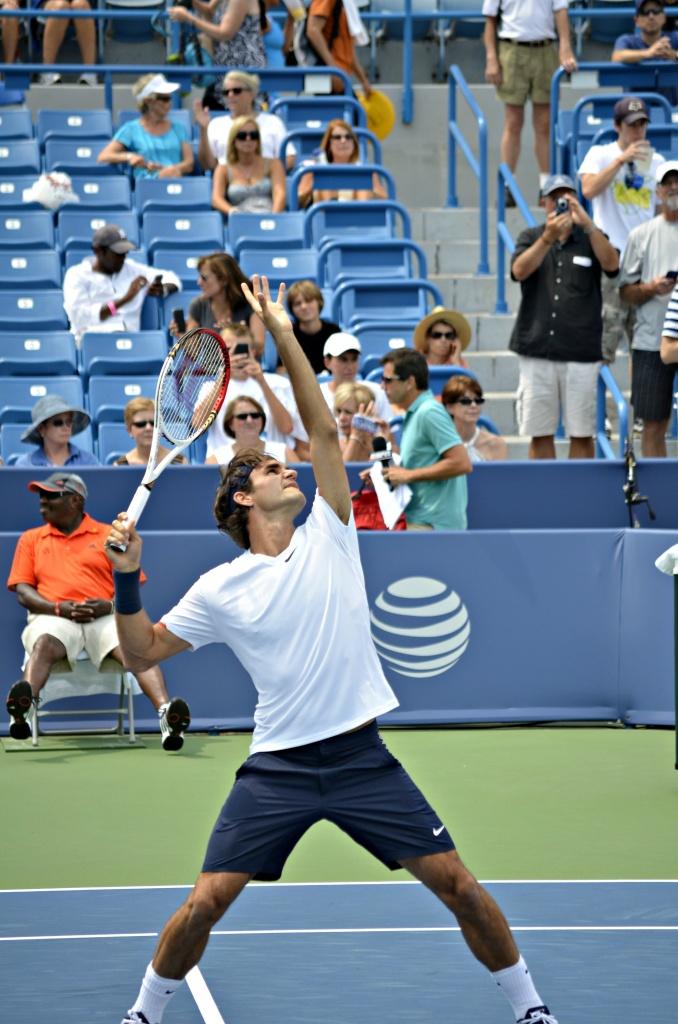 The great Roger Federer by ggshearron