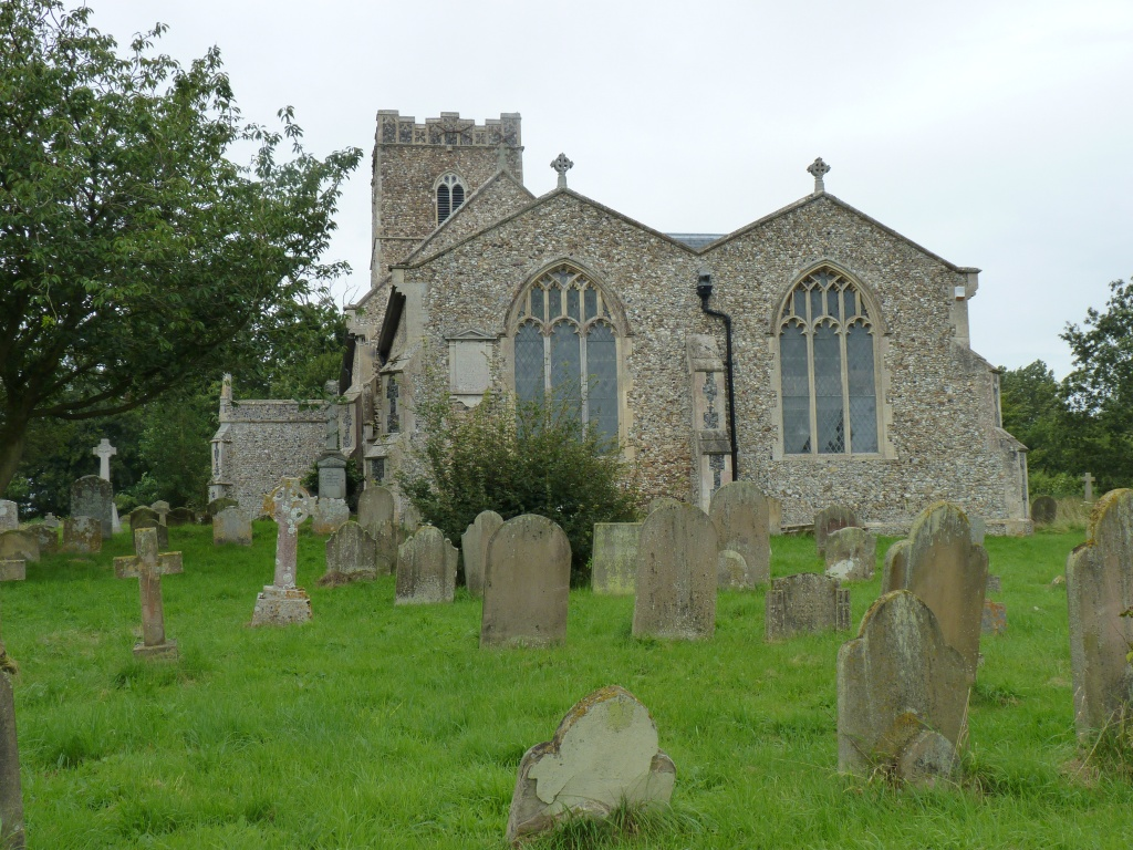 St Mary's Church Benhall by lellie
