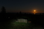 30th Aug 2012 - Moon Set Viewing Bench