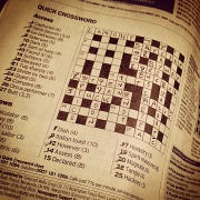 2nd Sep 2012 - Crossword puzzles