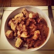 3rd Sep 2012 - Homemade curry