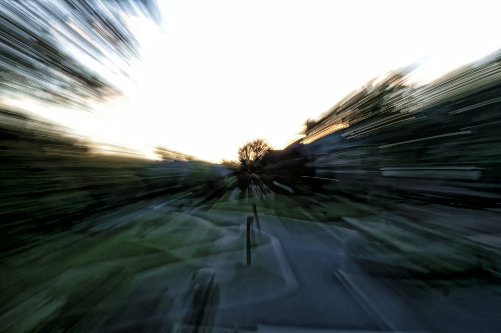 In Motion Sunset by lstasel