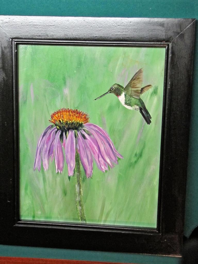 Gina's humming bird. by maggie2