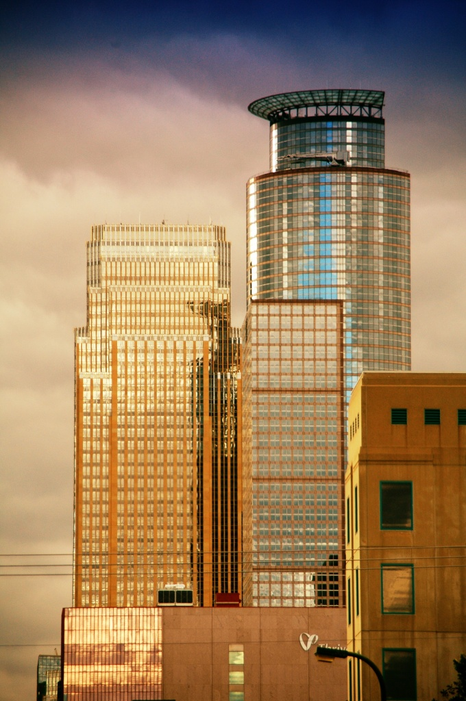 Downtown buildings by my work by pfmandeville