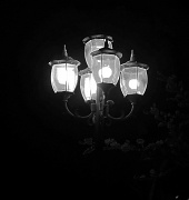 9th Sep 2012 - (Day 209) - Lamppost in the Dark