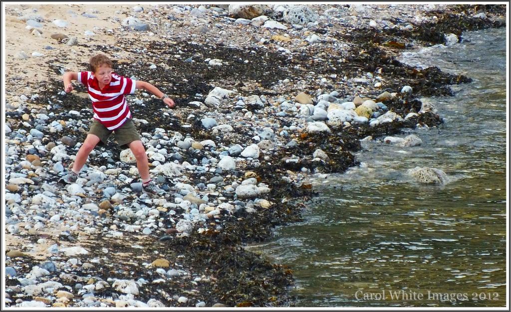 Skimming Stones by carolmw