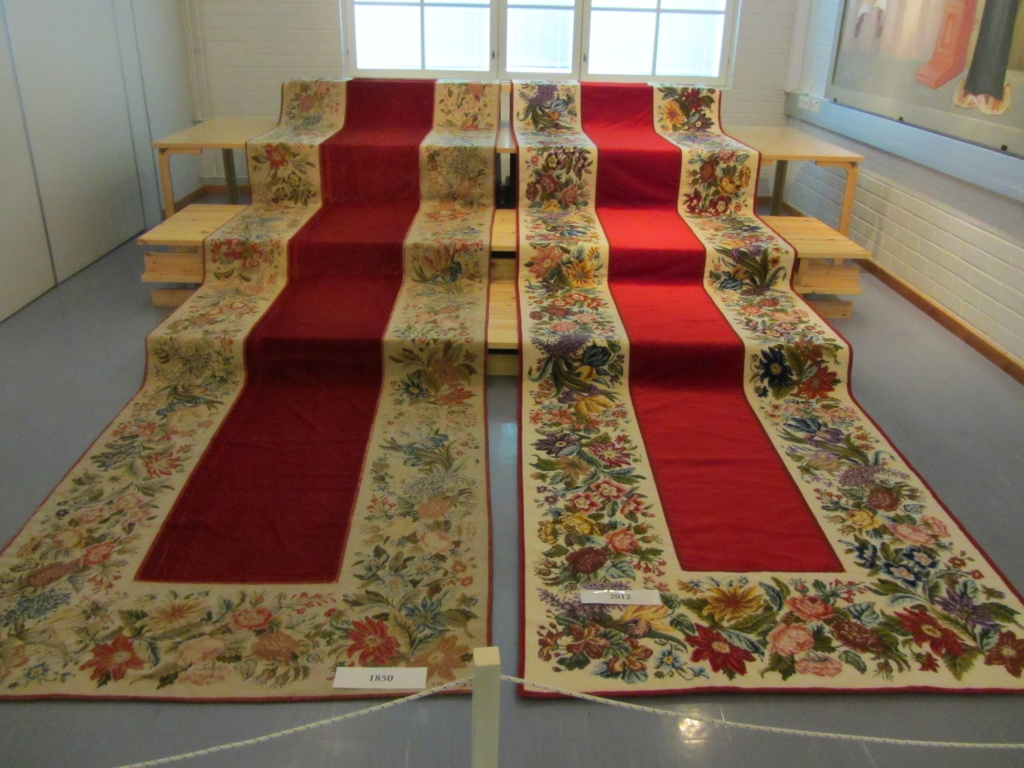 Festive carpets 1850 and 2012 IMG_1505 by annelis