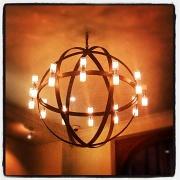 16th Sep 2012 - Restaurant lights