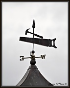 21st Sep 2012 - Carpenter's weathervane