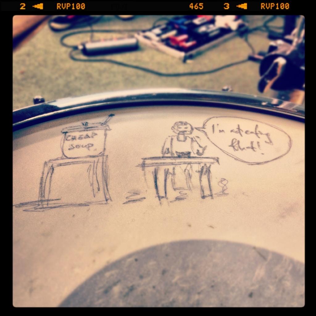 Snare drum doodle by manek43509