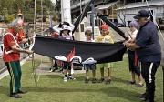 25th Sep 2012 - Raising the Jolly Roger
