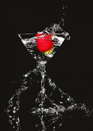 Strawberry Splash by northy