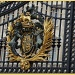 Royal Coat of Arms, Buckingham Palace by busylady