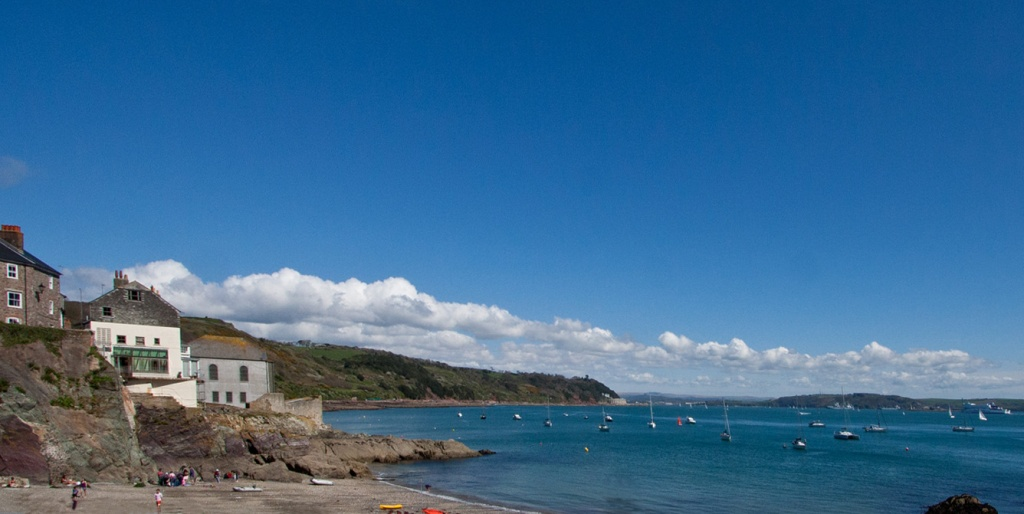 Plymouth Sound Taken From Cawsand, Cornwall, UK by netkonnexion