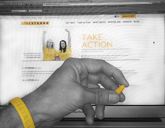 Livestrong Day 10-2-12 by mikegifford