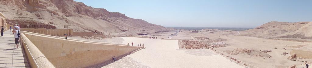 Lisa @ Hatshepsut temple by itsonlyart