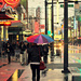 Rainbow on Granville St by kph129