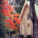 Country Church in Autumn by cindymc