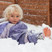 Lying in the snow by kiwichick