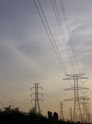 28th Jul 2012 - power lines at sunset