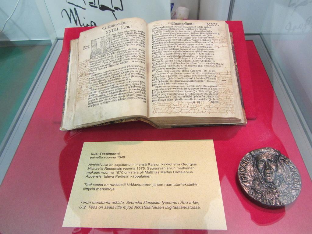 New Testament 1548 (in Finnsih Uusi Testamentti) by annelis