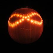 31st Oct 2012 - Floating pumpkin...